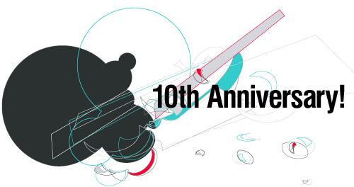 フォントブログ10周年