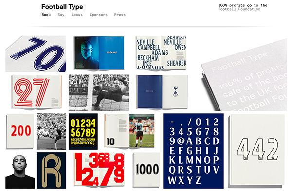 Football Typeサイト
