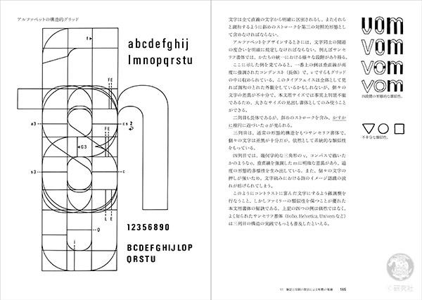 図説 サインとシンボル アルファベットの構造的グリッド